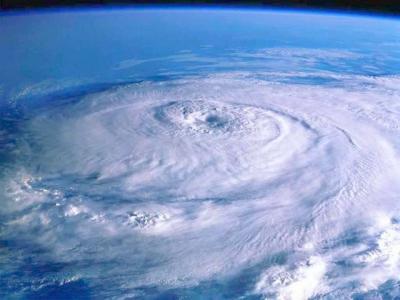 Ciclón Catarina.