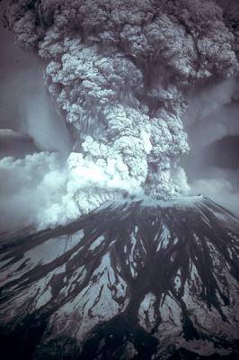 Erupción del Monte Santa Helena en 1980