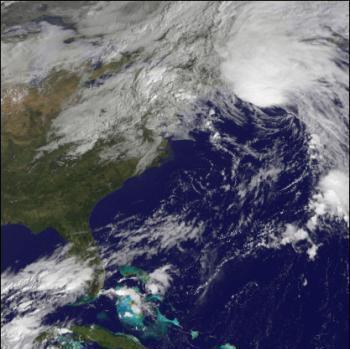 El huracán Kyle