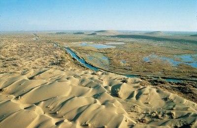El mar de Aral desaparece